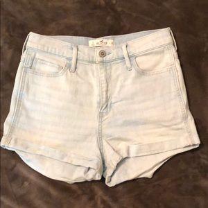 Hollister high-waisted shorts